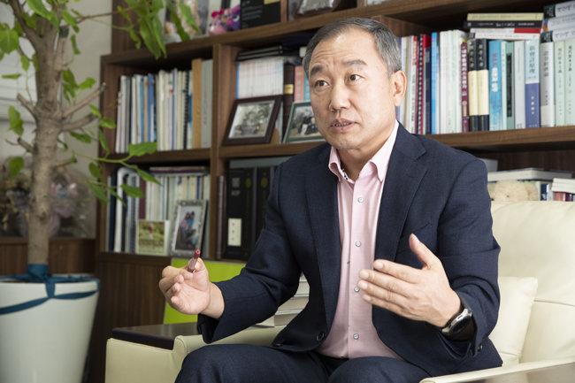 박영옥 스마트인컴 대표. [지호영 기자]