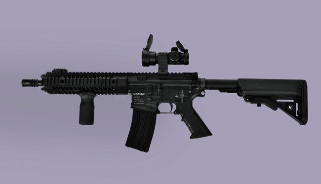 UAE군에 납품된 CAR816 소총. [다산기공 제공]