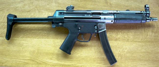 MP5 기관단총. [위키피디아]