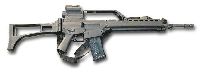 최신형 돌격소총 G36. [Heckler & Koch 제공]