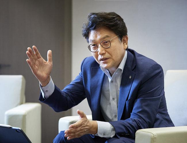 김경록 미래에셋은퇴연구소장. [홍중식 기자]