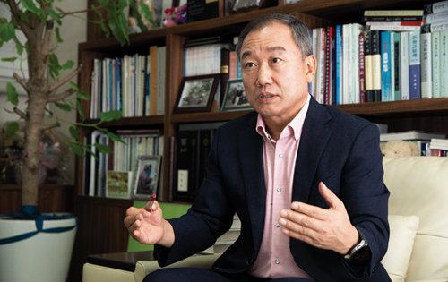 주식농부 박영옥 스마트인컴 대표. [지호영 기자]