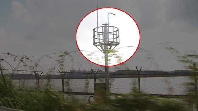 육군에 보급된 중국산 CCTV. [YTN뉴스 사진 캡쳐]