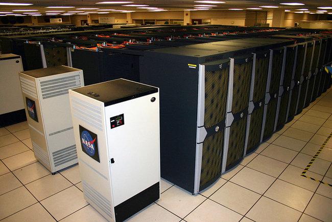 NASA의 슈퍼컴퓨터 플레이아데스. [출처·NASA]