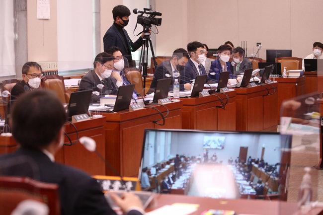 10월 22일 서울 여의도 국회에서 대검찰청 국정감사가 열렸다. [뉴스1]