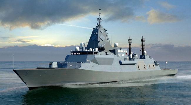 영국해군 차세대 호위함인 26형(Type 26). [BAE Systems 제공]