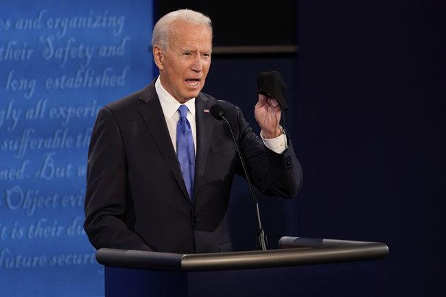 조 바이든 미국 민주당 대선후보. [AP=뉴시스]
