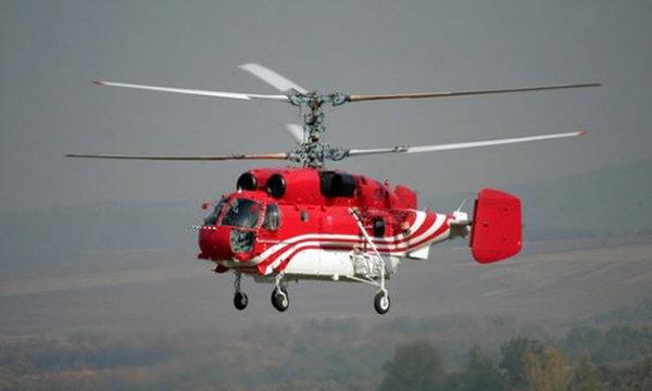 러시아제 Ka-32 동축반전식 헬리콥터. [러시안 헬리콥터스 정보부 홈페이지]