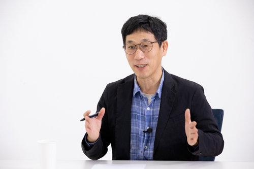진중권 전 동양대 교수. [사진=지호영 기자]