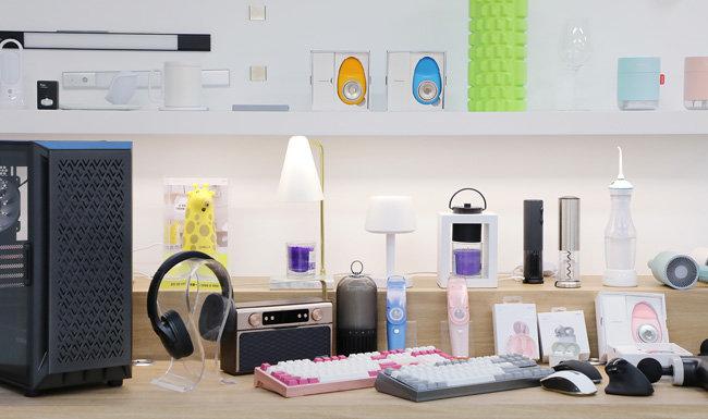 앱코는 게이밍 기어 뿐 아니라 생활 가전 브랜드 '오엘라'와 음향 기기 브랜드 '비토닉' 등을 출시해 인기를 끌고 있다. [앱코 제공]