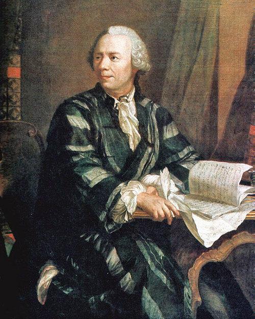 파이(π)라는 기호를 처음 사용한 18세기 스위스 천재 수학자 레온하르트 오일러. [Deutsches Museum 소장본]