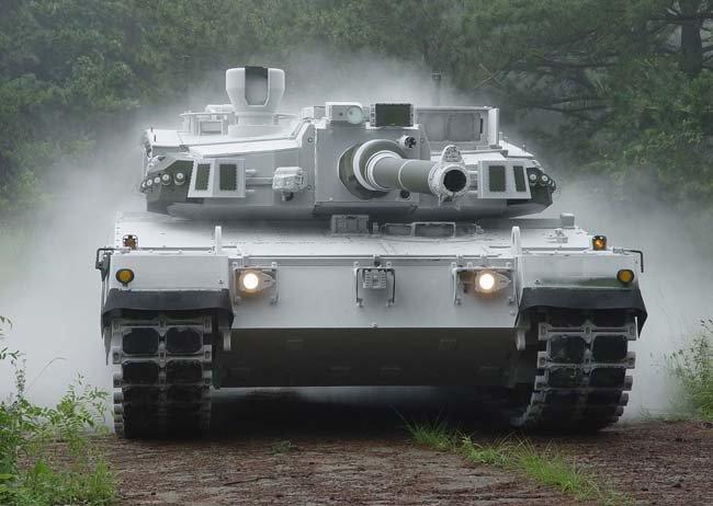 K2 전차. [방위사업청 제공]