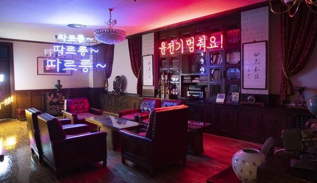 일민 김상만 선생의 집무실을 보존한 일민기념실.  [지호영 기자]