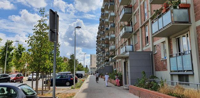 파리의 대표적 부촌인 16구에 위치한 공공임대주택. [동아DB]