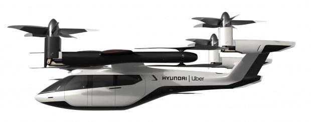 현대자동차가 선보인 개인용 비행체(PAV) 콘셉트의 'S-A1'. [현대자동차]