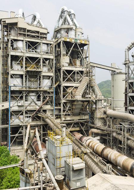 시멘트 공장의 소성로는 1500℃로 가열된다. [뉴시스]