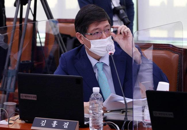 이른바 '대북전단금지법'으로 불리는 남북관계 발전에 관한 발전에 관한 법률 일부 개정안을 발의한 김홍걸 무소속 의원. [동아db]