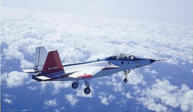 일본 미쓰비시 중공업이 제작한 스텔스 전투기 시제품인 ATD-X. [일본 방위성]