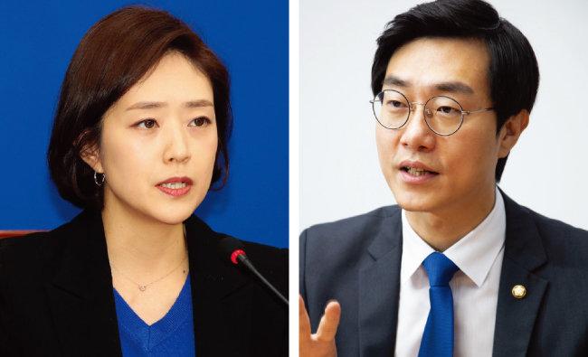 더불어민주당 고민정(왼쪽), 장경태 의원. [동아DB]