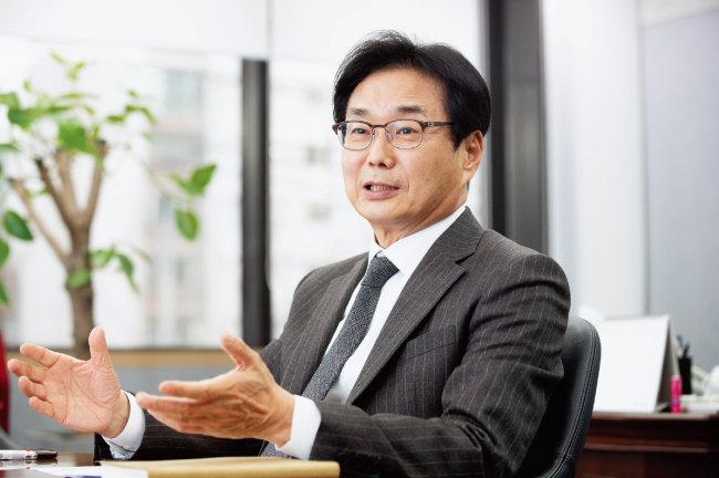 원희목 한국제약바이오협회장. [지호영 기자]