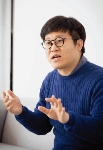 김동주 이루다투자일임 대표. [박해윤 기자]