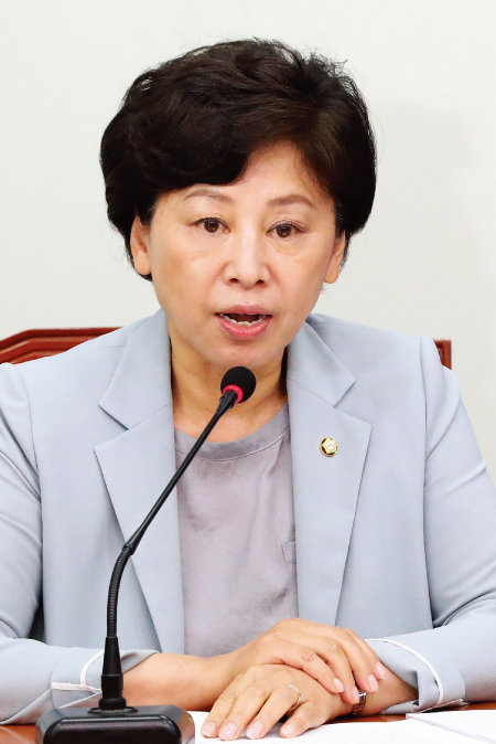 한국여성단체연합 공동대표를 지낸 더불어민주당  남인순 의원. [동아DB]