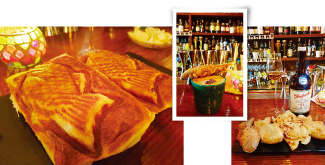 낮에는 바에서  칵테일과 함께  붕어빵을 파는 '장생건강원'. [사진 제공 · 명욱]