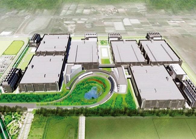 대만 TSMC가 미국 애리조나주에 설립할 반도체 공장 조감도. [TSMC]