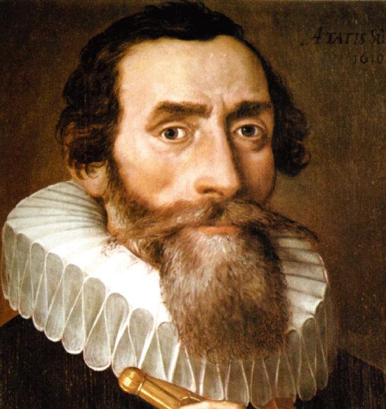 독일 천문학자  요하네스 케플러는 천문학에 음악 원리를 적용했다. [위키피디아]