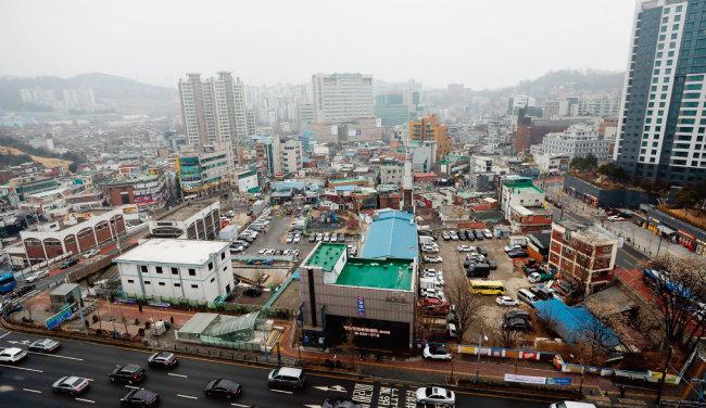 공공개발 후보지로 선정됐지만 최근 포기 의사를 밝힌 서울 동작구 흑석2구역. [뉴스1]