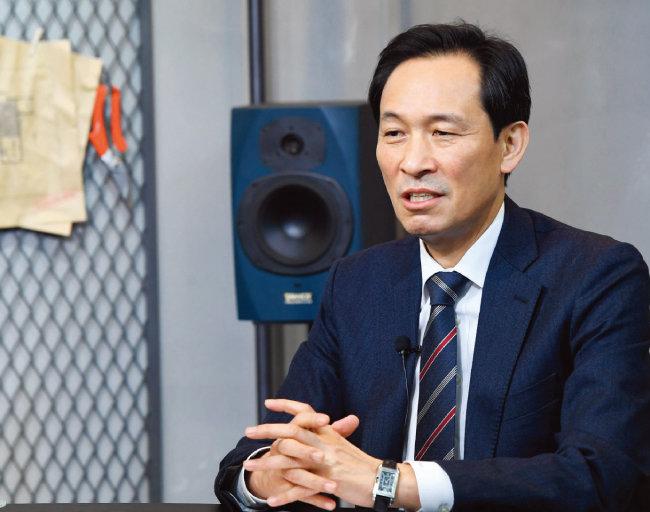 우상호 서울시장 보궐선거 예비후보. [사진공동취재단]
