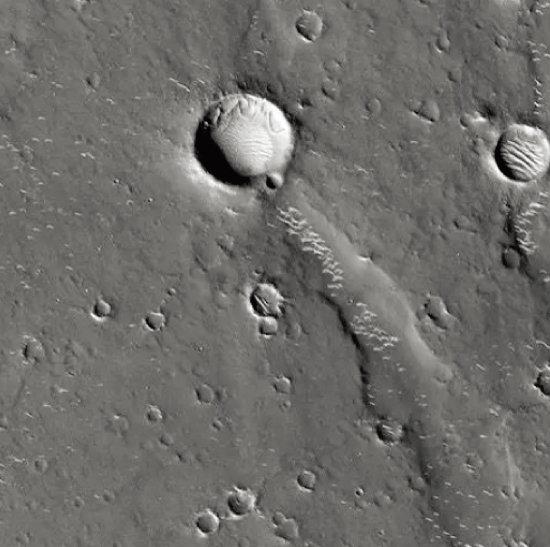 화성의 유토피아 평원. [NASA]