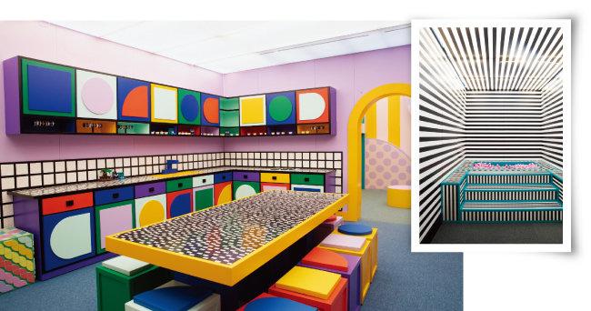 레고 하우스 오브 도트는 6개의 개성 있는 공간 모두 레고로 꾸며져 있다.  [지호영 기자]