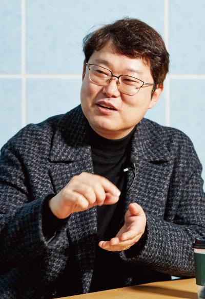 김학렬 스마트튜브 소장. [홍중식 기자]