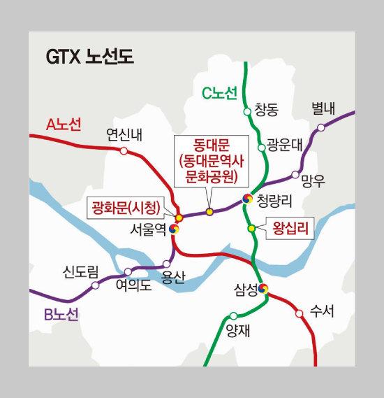 상자 안 역은 서울시가 추가 시설을 건의한 곳.  [동아 DB]