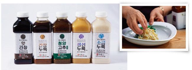 '소금누룩 익는 마을'에서 출시한 제품들. [사진 제공 · 네오이마주]
