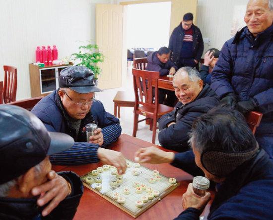 중국 노인들이 요양원에서 생활하고 있다. [VCG]