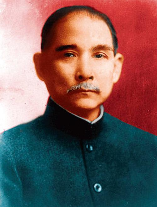 신해혁명으로  근대 중국을 건설한 쑨원(孫文). [위키피디아]