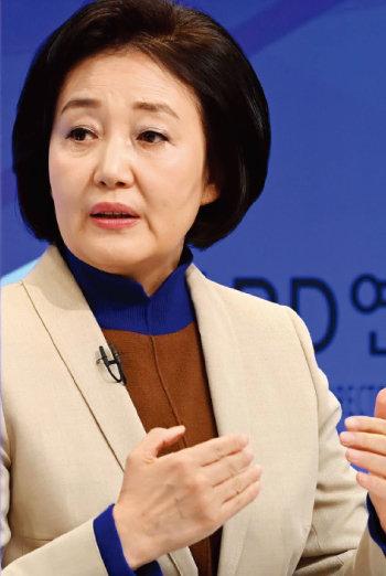4·7 서울시장  보궐선거에 출마한  더불어민주당  박영선 후보. [동아DB]