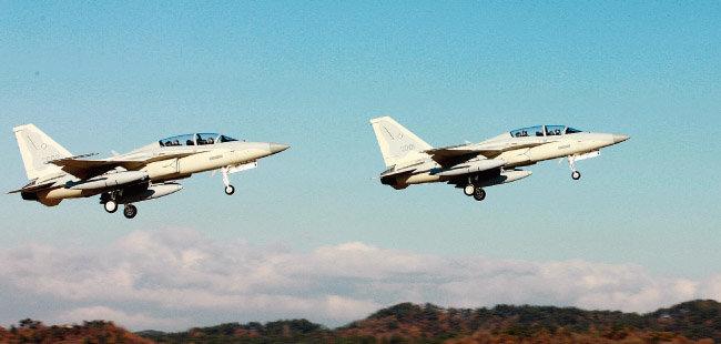 필리핀 공군이 운용하는 한국산 FA-50PH 경공격기. [사진 제공 · 한국항공우주산업]
