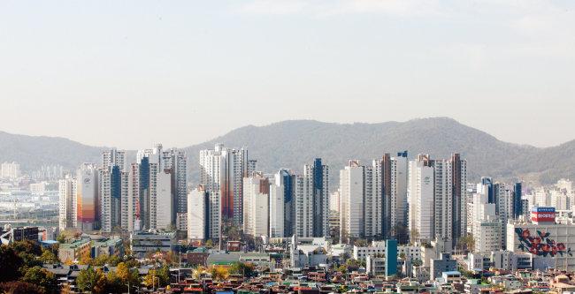 서울 금천구 시흥동 아파트 단지.  [사진 제공 · 금천구청]