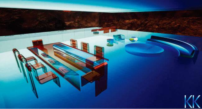가상공간에만 존재하는 디지털 집도 NFT로 거래되고 있다. 크리스타킴의 '화성의 집(Mars House)'은 약 5억 원에 판매됐다. [크리스타킴 캡처]