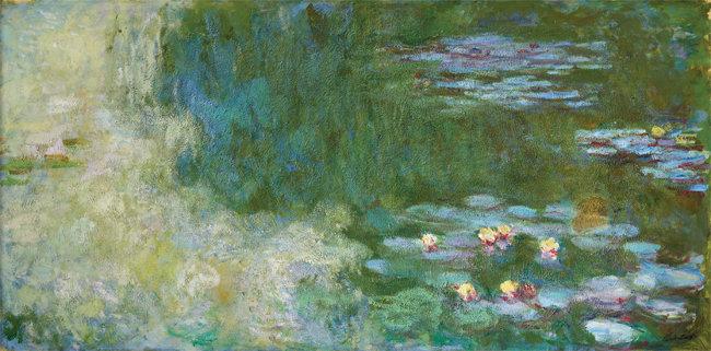 클로드 모네, '수련이 있는 연못', 1919~1920. [사진 제공 · 삼성]