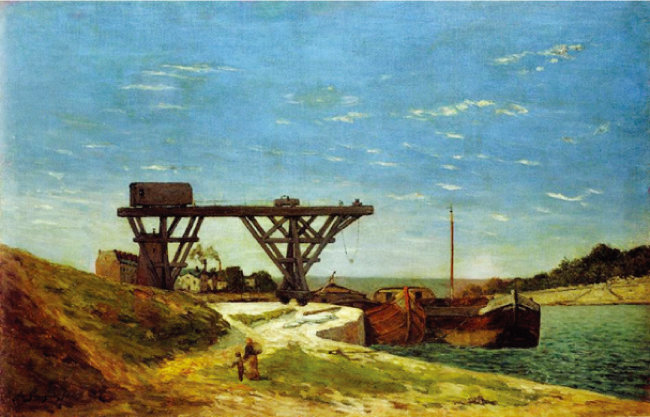 폴 고갱, '무제(Untitled)', 1875. [사진 제공 · 삼성]