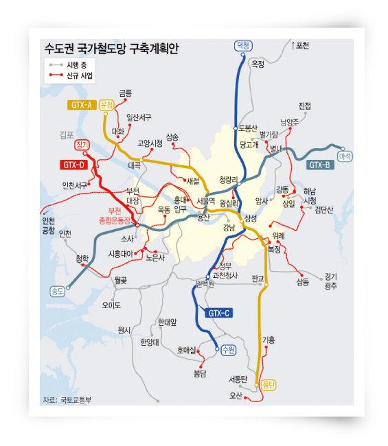 제4차 국가철도망 구축 계획. [뉴시스]