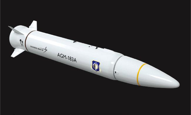 AGM-183A ARRW. [사진 제공 · 록히드 마틴]