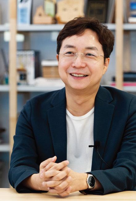 코로나19가 가져올 미래 사회를 얘기하는 유현준 교수. [홍태식]
