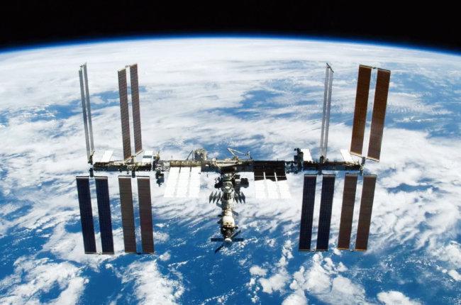 국제우주정거장. [NASA]