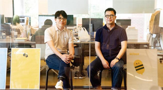 임의균(왼쪽)·임호열 스티비 공동대표. [지호영 기자]