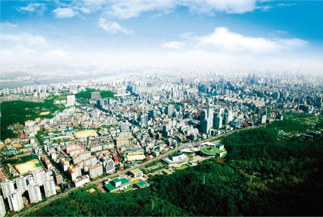 '양재 R&CD 특구' 개발 호재가 있는 서울 서초구 양재동과 우면동 집값이 가파르게 오르고 있다. [사진 제공 · 서초구청]